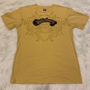 BILLABONG LOGO PATCH SHIRT LARGE $22.00